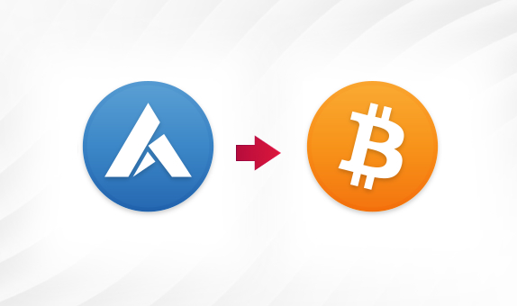 ARDR to BTC png Convert