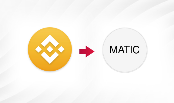BNB to MATIC png Convert
