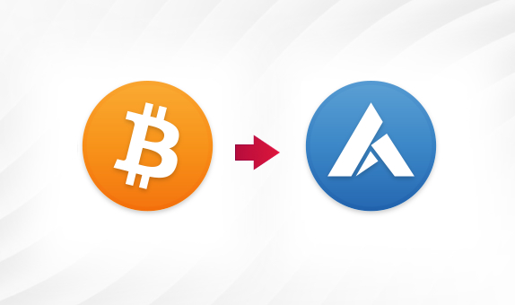 BTC to ARDR png Convert