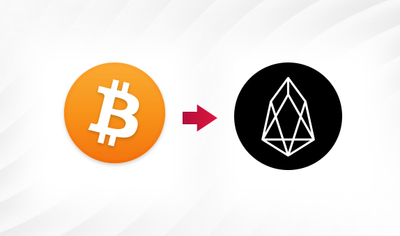 BTC to EOS png Convert