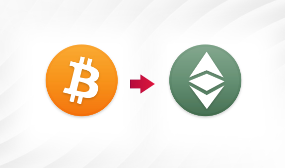 BTC to ETC png Convert