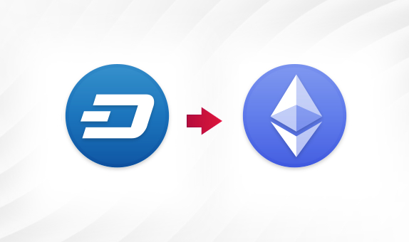 DASH to ETH png Convert