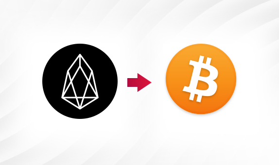 EOS to BTC png Convert