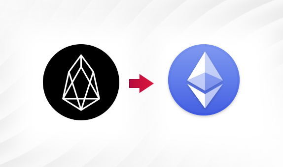 EOS to ETH png Convert