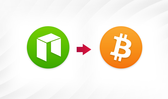NEO to BTC png Convert