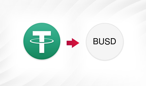 USDT to BUSD png Convert